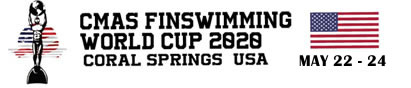XV CMAS Finswimming World Cup 2020 – USA
